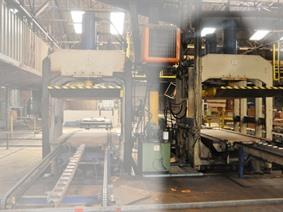 Valette panel press 410 ton, Dubbelkolom dieptrekpersen