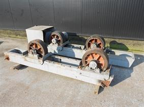 Equipelec Turning gear 40 ton, Turning gears - Positioners - Welding dericks & -pinchtables