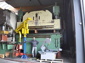 LVD PPNMZ 500 ton x 4500 mm, Hydraulic press brakes