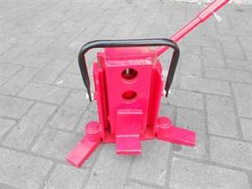 Heavy duty jack for lifting machines 8 ton, Rollend materiaal - Heftrucks - Telescoop kranen - Vorklift - Trailers