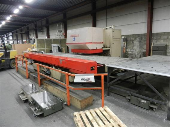 Wiedemann Magnum 5000 5000 x 1525 mm, Stamping & punching press thin metalsheet