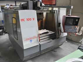 Tos-Mas MC100V X:1016 - Y:610 - Z: 508mm, Vertical machining centers