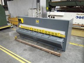 Haco TS 3100 x 6 mm, Hydraulic guillotine shears