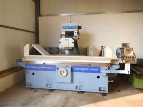 Guro ZMM 1500 x 450 mm NC, Surface grinders with horizontal spindle