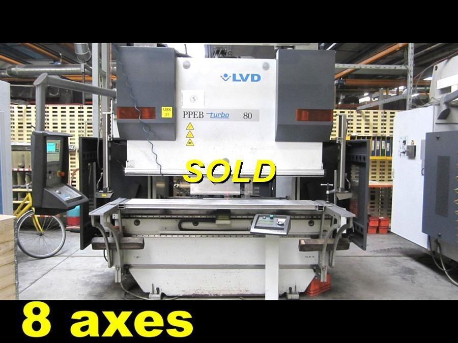 LVD PPEB Turbo - 80 ton x 2000 mm | Hydraulic press brakes