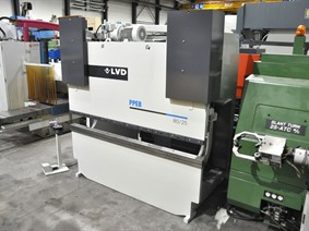 LVD PPEB-EQ 80 ton x 2500 mm CNC, Hydraulic press brakes