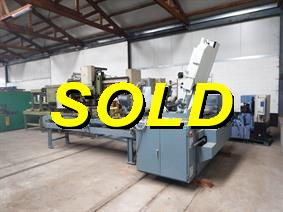 Sabi VBS 500A CNC sawing under angle, Scies a ruban