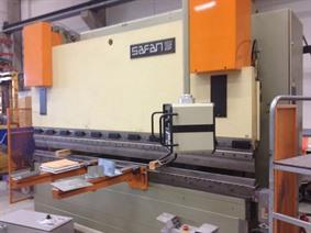 Safan PLCS 225 ton x 3200 mm CNC, Hydraulic press brakes