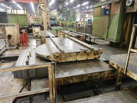 CNC Scharmann Turntable 3500 x 1650 mm, Mesas rotativas