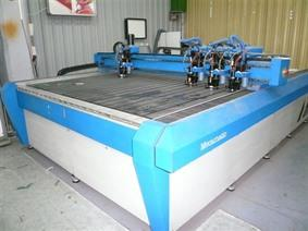 Mecamatic engraving machine X: 3500 - Y: 1700 mm, Portaal freesmachines & Gantry freesmachines conventioneel &CNC