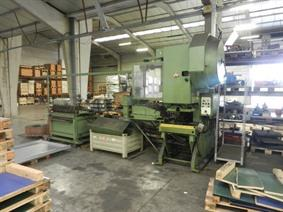 WMW decoil/straight/press 200 x 2 mm, Decoiling + / or Roll forminglines