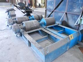 Conv. Rotator 120 ton, Turning gears - Positioners - Welding dericks & -pinchtables
