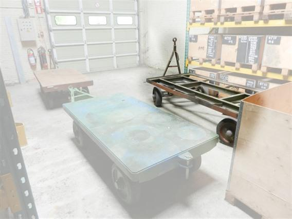 Loading trolley 10 ton, Vehicles (lift trucks - loading - cleaning etc)