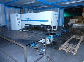 LVD Delta 1250 TK, Stamping & punching press thin metalsheet