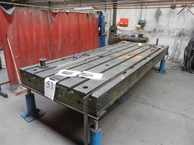 Welding table 4000 x 1500 x250 mm, Tables & Floorplates