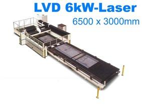 LVD Impuls 6526 6500 x 3000 mm, Lasersnijmachines