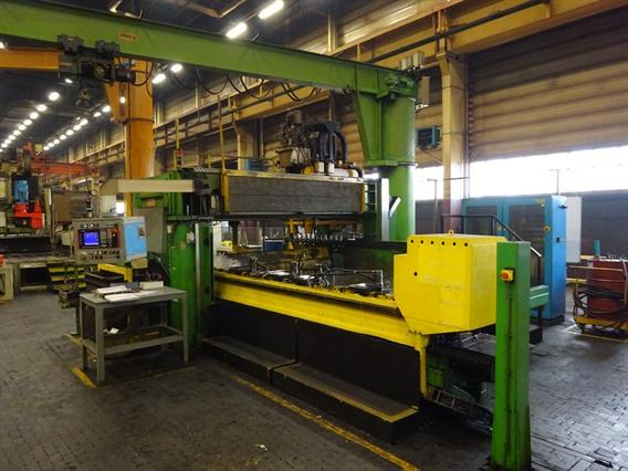 Armo heavy duty drill/tap 7800 x 2200 mm CNC, Zaagstraten & Boorstraten