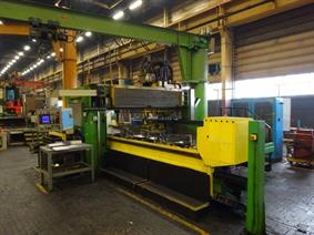 Armo heavy duty drill/tap 7800 x 2200 mm CNC, Bed milling machine with moving column & CNC