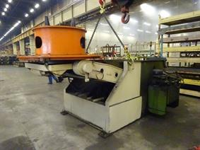 Silvestrini welding manipulator 12,5 ton, Turning gears - Positioners - Welding dericks & -pinchtables