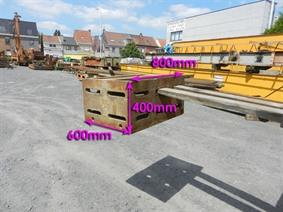 Clamping table 800 x 400 x 600 mm, Cubic- & angleplates or tables