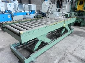 Roller conveyor/scissorlift 3400 mm - 3 ton, Różne