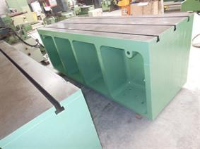 Clamping table 2600 x 900 x 1000mm, Opspanblokken - Hoekplaten & Opspantafels