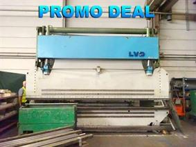 LVD PP 200 ton x 5100 mm, Hydraulic press brakes