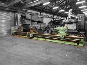 CW61125B Ø 1250 x 8000 mm, Centre lathes