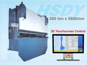 Haco HSDY 500 ton x 5600 mm CNC, Hydraulic press brakes