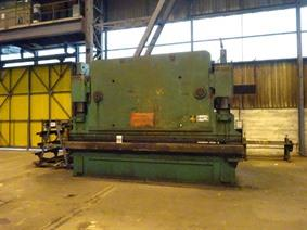 Beyeler 600 ton x 5100 mm, Hydraulic press brakes