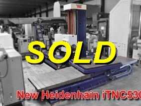 Tos WHN13.8C X: 3500 - Y: 1250 - Z: 2000mm, Bed milling machines with moving table & CNC