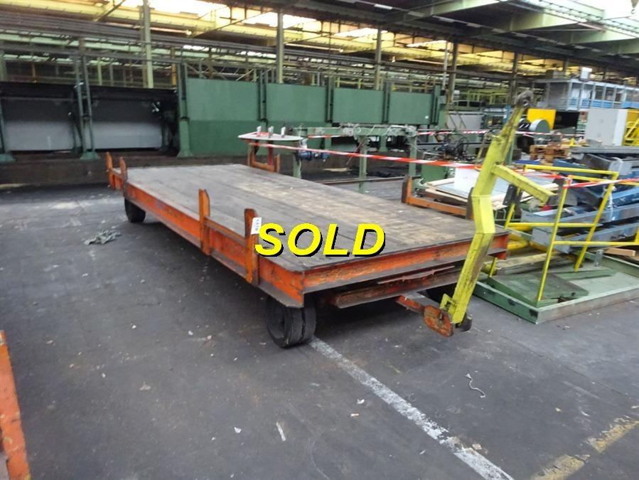 10 Ton Trolley : Loading trolley ton vehicules elevateurs
