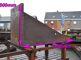 Clamping bracket 3000 x 1500 x 1200 mm, Opspanblokken - Hoekplaten & Opspantafels