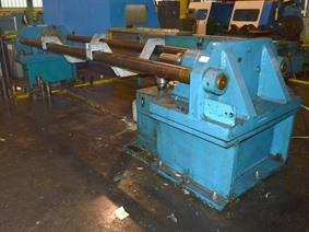 Press for rolls/tubes 100 ton, Horizontale persen