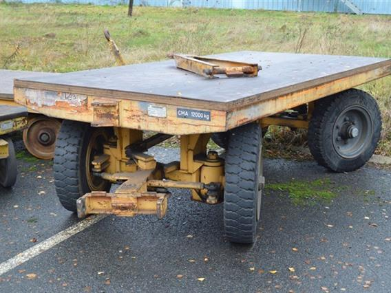 Loading trolley 12 ton, Vehicles (lift trucks - loading - cleaning etc)
