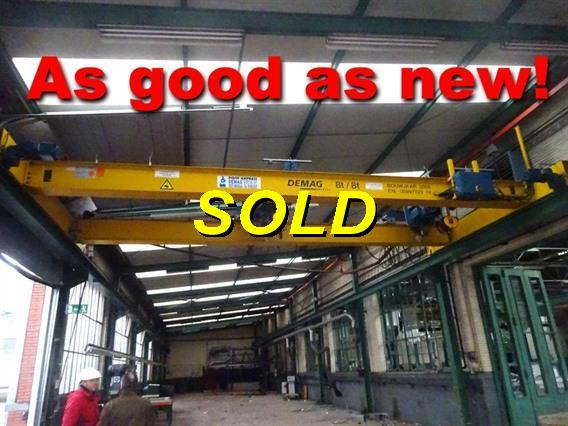 Demag DH 8 ton + 8 ton x 8300 mm, Conveyors, Overhead Travelling Crane, Jig Cranes