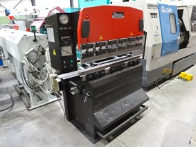Amada Promecam RG 25 ton x 1250 mm, Hydraulic press brakes