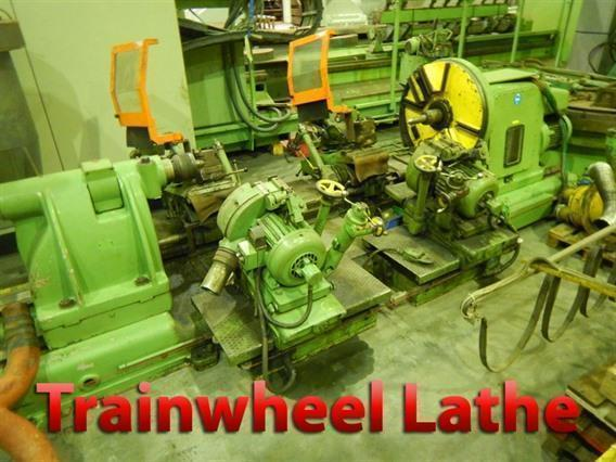 Minganti MTRC.1B train/rail wheel lathe, Centre lathes