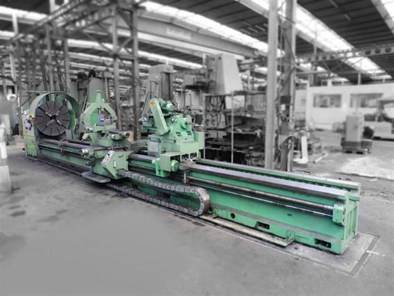 Tacchi FTC 75 Ø 1500 x 8000 mm, Centre lathes