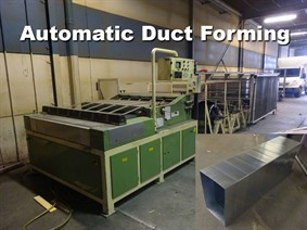 Firmac ADF 1500 x 1,2 mm, Decoiling + / or Roll forminglines
