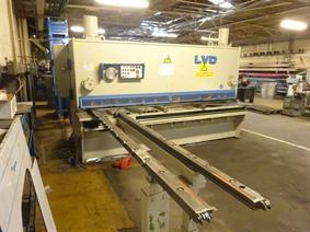LVD MVN 3100 x 10 mm, Hydraulic guillotine shears