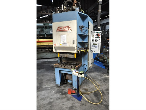 Leinhaas 63 ton, Open gap eccentric presses