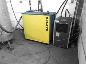 Kaeser Dryer TD 61, Driven assemblies / Compressors