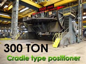 Unique Readco 300 ton positioner, Turning gears - Positioners - Welding dericks & -pinchtables