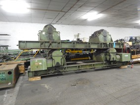 Welding positioner 400 ton, Turning gears - Positioners - Welding dericks & -pinchtables