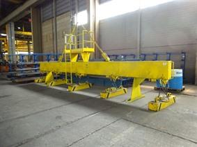 Demag magnetic plate hoist 15 ton, Rolbruggen, Loopbruggen, Takels & Kranen