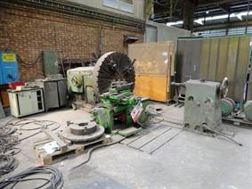 Dutranoit facing lathe Ø 1900 mm, Centerdraaibanken Conventioneel