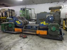 Bode welding positioner 650 ton, Turning gears - Positioners - Welding dericks & -pinchtables