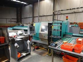Index G200 + barfeeder, Tours CNC