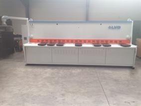 LVD HST-E 4100 x 6 mm CNC, Hydraulic guillotine shears